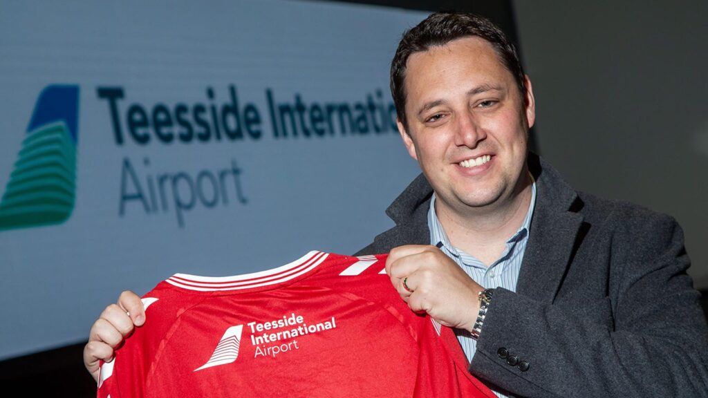 Teesside International Airport Teams Up With The Boro Once Again