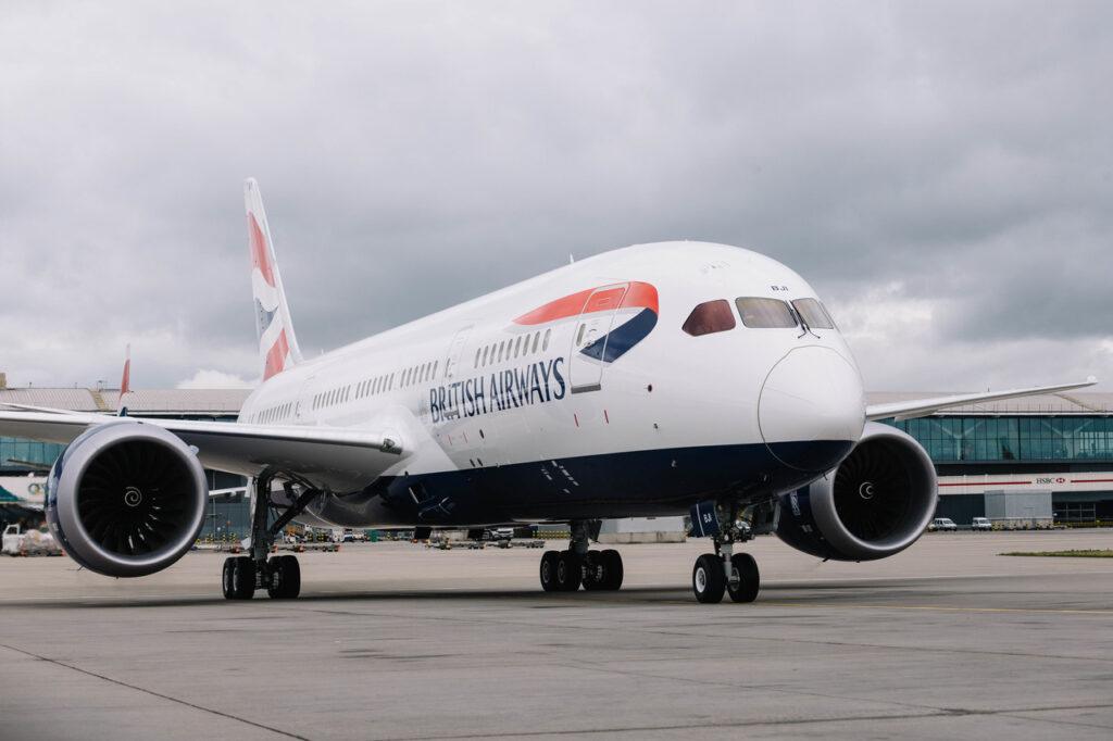 British Airways: Picture by: Stuart Bailey